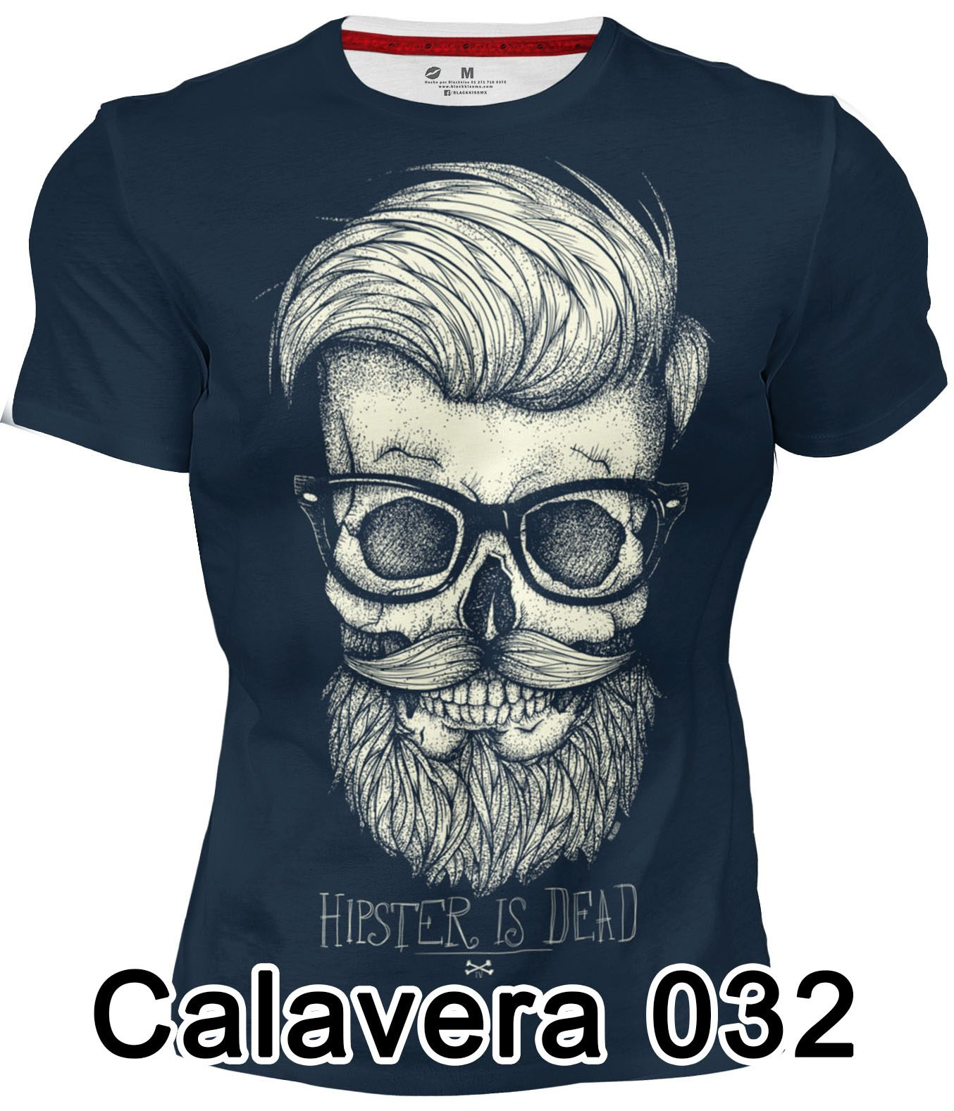 Playera Hipster is Dead